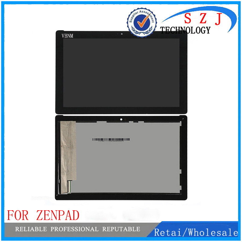 New 10.1 inch For ASUS ZenPad 10 Z300M LCD Display Touch Screen Digitizer Assembly Replacement Parts yellow connector new 10 1 inch parts for asus tf701 tf701t lcd display touch screen digitizer panel full assembly free shipping