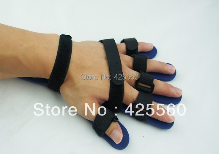 Universal Adjustable Finger Splint Board Orthotics Finger Fixed Training Free Shipping hand wrist orthosis separate finger flex spasm extension board splint apoplexy hemiplegia right left men women