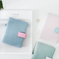 3 Colors Weave Cover Birthday Gift Celebration Notebook Composition Book Diary Notepad Planner Hand Book Student