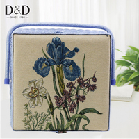 D&D Home Sewing Basket with Complete Sewing Accessories Fabric Crafts Sewing Tools Storage Box Best Christmas Gift for Mother