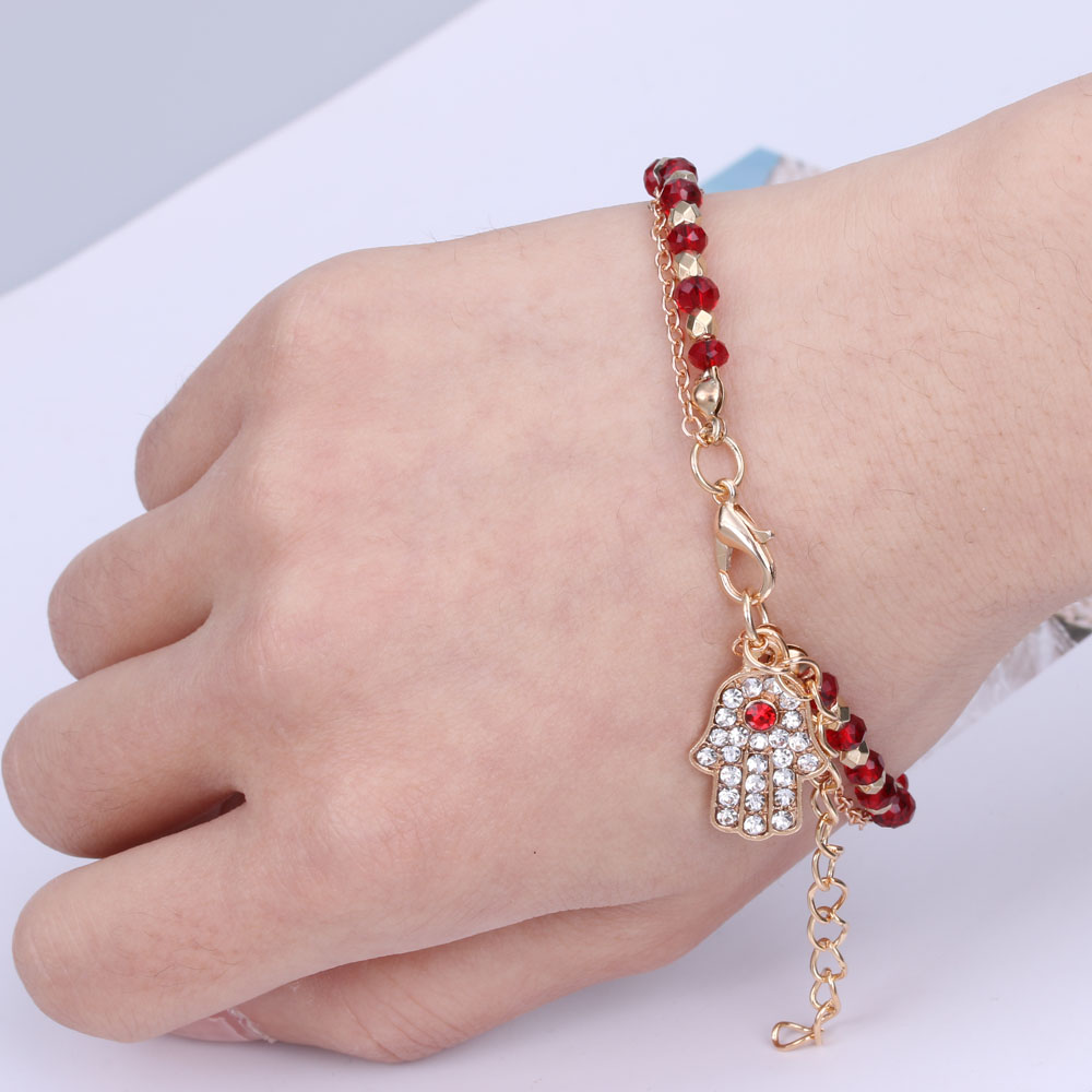 Gold Palm Hand Jewelry Hamsa Fatima Blue Evil Turkey Eyes Charm Subwoofer Audio Amplifier Circuit Board Diy From Army66666 1026 Click Here Bracelet Crystal Beads Bracelets For Women