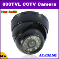 New Audio Dome Camera 800TVL 1 3 CCD 24 Leds Day Night Vision Indoor Cctv Security