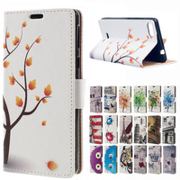 MSK Color Of The Tree Magnetic Wallet Style Leather Stand Cover For Flip Wiko Fever Special