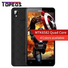 Leagoo Alfa 6 Android 4.4 MTK6582 Quad Core 1.3Hz Smartphone 1 GB RAM 8GM ROM 4.5 pouce IPS 5MP Caméra 3G WCDMA Double SIM Téléphone