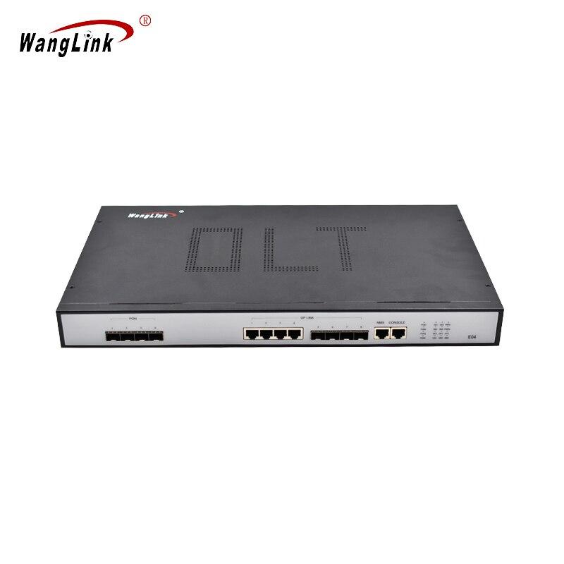 EPON 4 PON ports 4 SFP ports avec PON module liaison montante ethernet port réseau olt EPON onu OLT Comprend 4 PON modules