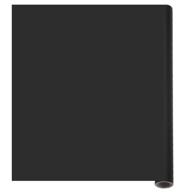 45*100 centimetri IN PVC Impermeabile Adesivo Lavagna Mobile Capretto Graffiti Tabellone per scrittura (Nero) con 5 xColorful Gesso Spedizione per L'insegnamento