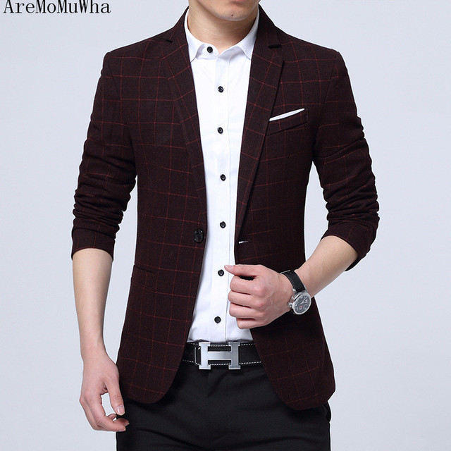 c6ddd01da521 AreMoMuWha New style men's casual suits men's wear Korean version western- style suits men's suits men's suits and business QX109