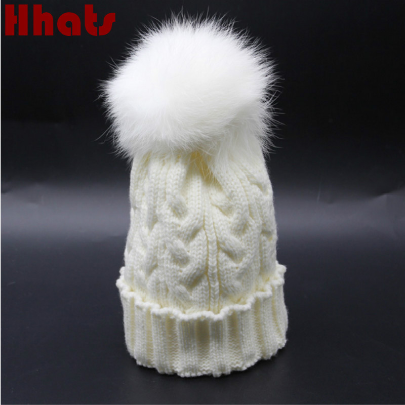 Which in shower children faux fur pompom winter hat fashion knitted cable fur pom pom ball beanie skullies kids boy girl caps bhesd 2017 faux fur pompom skullies hat children double pom poms acrylic beanie hat women knitted hat winter bones feminin jy535