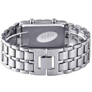 Image 3 - Aidis青少年スポーツ腕時計防水電子第二世代バイナリledデジタルメンズ腕時計合金リストストラップ時計