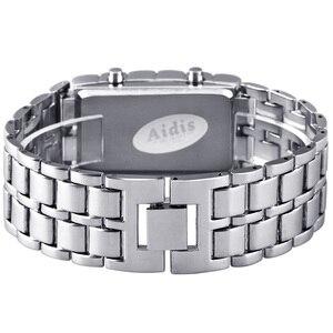 Image 3 - Aidis الشباب الساعات الرياضية مقاوم للماء الإلكترونية الجيل الثاني ثنائي LED الرقمية ساعة رجالي سبيكة شريط للرسغ ساعة