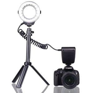 Image 3 - Capsaver anel de luz de led macro, 18 peças, smd, para pentax, canon, nikon, sony, olympus, panasonic, speedlite, display lcd, cri 90 RF 600D
