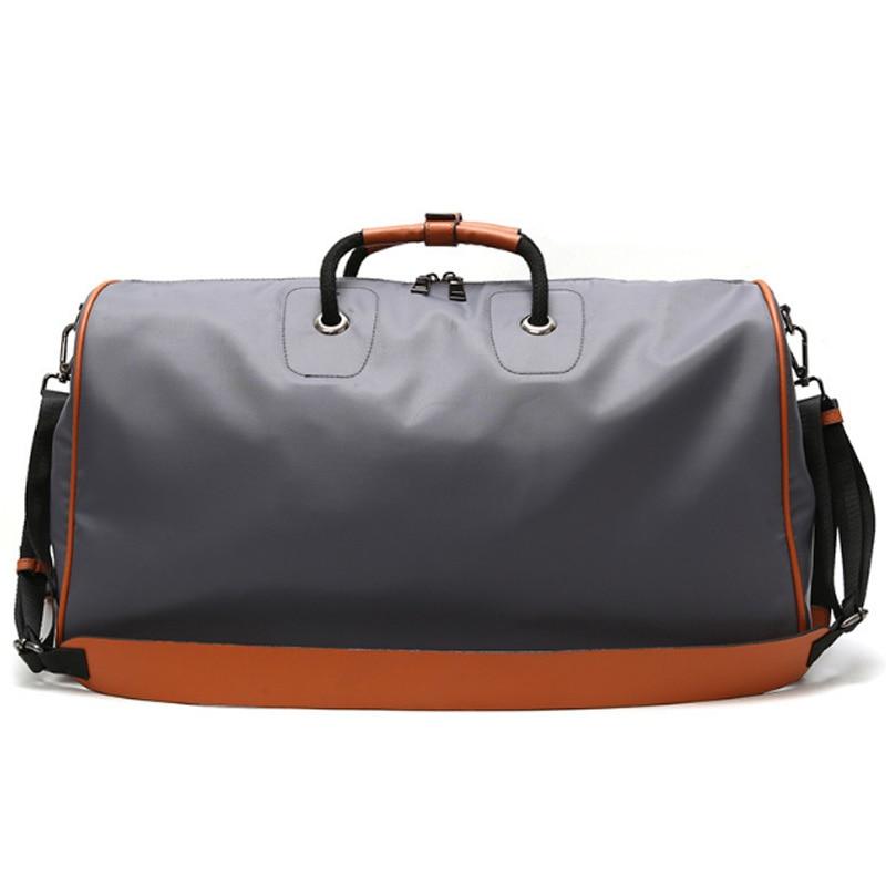 LJL-Short-Distance Travel Bag Female Portable Shoes Large Capacity Travel Luggage Bag Light Korean Travel Bag Sports Gym Bag