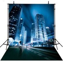 Hot Prom Photography Backdrops Vinyl Backdrop For Photography City Scenic Background For Photo Studio Foto Achtergrond
