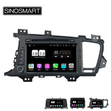 Sinosmart Android 9.0 4G Ram 8 Core CPU Mobil Dvd GPS Player untuk Kia K5 Optima 2011 2012 2013 2014 2015 CANBUS Opsional(China)
