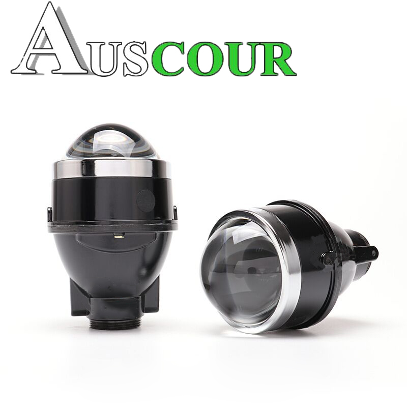 3.0inch HID halogen Bi xenon fog Projector Lens Mounting Bracket Universal Fog Light Lens Driving Lamp Retrofit D2H car styling