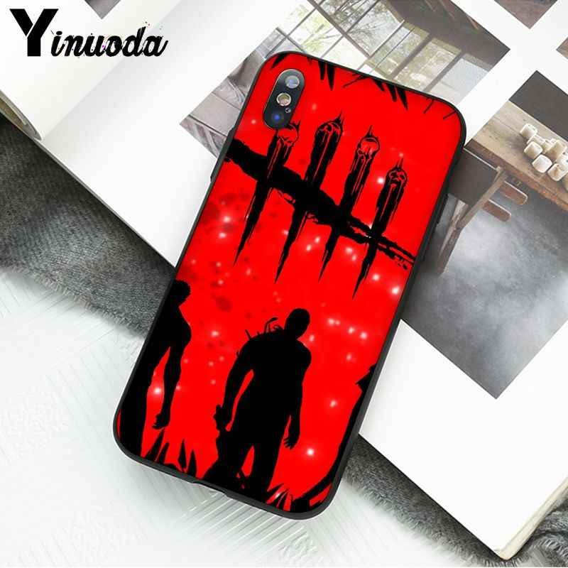 Yinuoda Dead by Daylight CUSTOM Photo โทรศัพท์กรณีสำหรับ iPhone X XS MAX 6 6S 7 7plus 8 8 PLUS 5 5S XR
