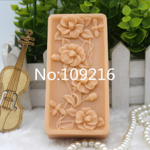 New Product!!1pcs Cane Vine Flowers (zx285) Food Grade Silicone Handmade Soap Mold Crafts DIY Mould
