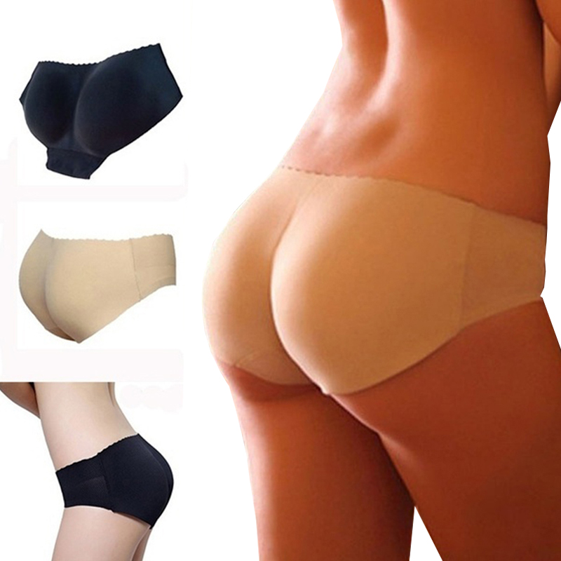 9070af381a Lady Padded Seamless Panties Butt Lifter Booty Enhancer Control Body Shaper  Panty Underwear Full Butt Hip Shaper Sexy Busty Hips-in Control Panties  from ...
