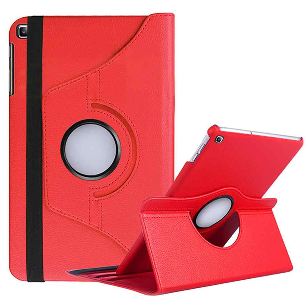 360 Roterende Case Voor Samsung Galaxy Tab Een 10.1 2019 T510 T515 Stand Pu Leather Cover Voor SM-T510 SM-T515 10.1 inch Cover