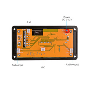 Image 3 - Aiyima 12v 4.2のbluetooth MP3デコーダオーディオモジュールスペクトラム表示ロスレスapeデコードサポートapp eq fm aux車アクセサリー