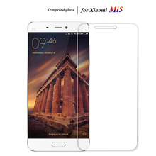 2PCS Tempered Glass For Xiaomi Mi5 Mi 5 Screen Protector Protective Phone Film