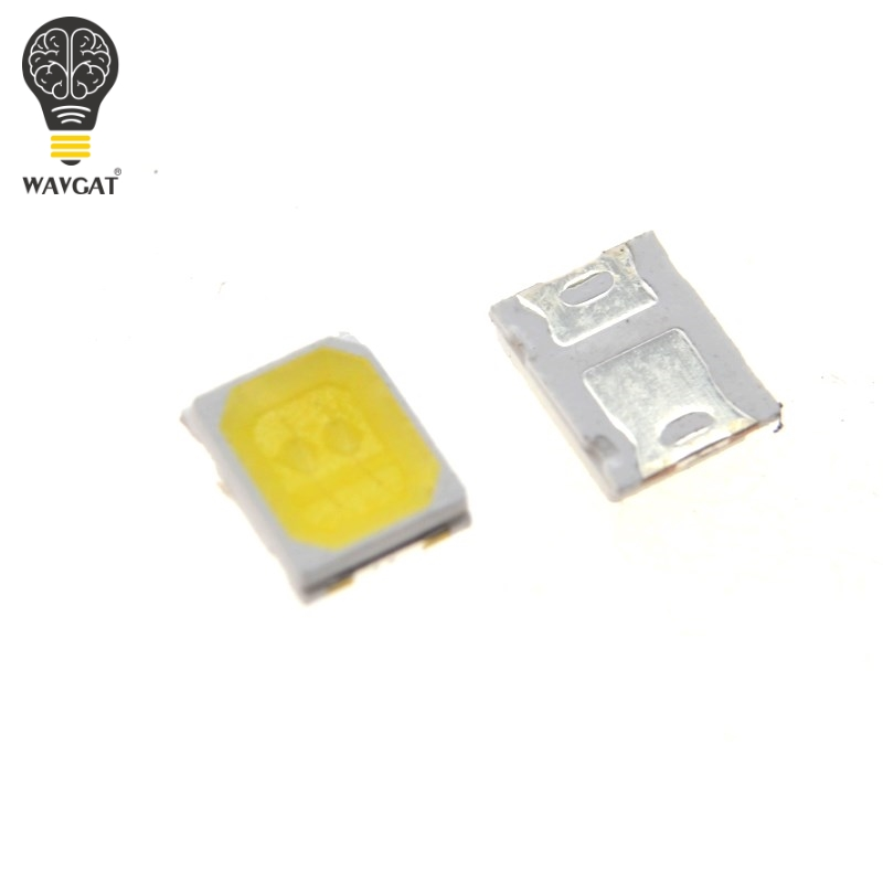 Active Components Diodes The Best 100pcs Lg Led Backlight 1210 3528 2835 1w 100lm Cool White Lcd Backlight For Tv Tv Application