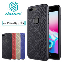 Nilkin For IPhone 8 Case NILLKIN Air Heat Dissipation Hard PC Luxury Full Protective Phone Cover