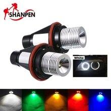 2 шт. 5 Вт LED Ангельские глазки автомобиля светодиодные лампы для BMW E39 E53 E60 E61 E63 E64 E65 E66 x5