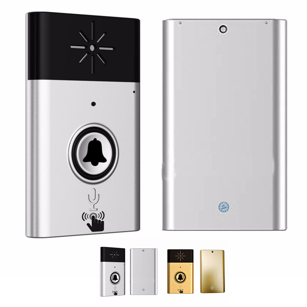 1 to 1 H6 Wireless Doorbell with Voice Intercom Intelligent Battery-powered 300M Distance Outdoor Transmitter Indoor Receiver1 to 1 H6 Wireless Doorbell with Voice Intercom Intelligent Battery-powered 300M Distance Outdoor Transmitter Indoor Receiver