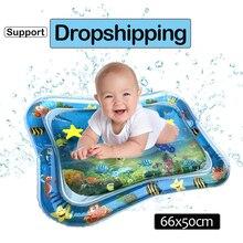 Детский игровой водный коврик, надувной детский животик, игровой коврик, игрушки для детей, коврик для летнего плавания, пляжа, бассейна, игра, крутой ковер, игрушка