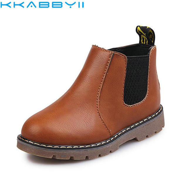 3b90c468c Cool Rome Kids Autumn Winter Oxford Shoes For Children Dress Boots Girls  Boys Fashion Martin Boots Toddler PU leather Boot