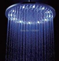 Quality Assurance Fashion Chrome Plated Round 8 Inch Led Shower Top Spray Shower Led Rain Shower
