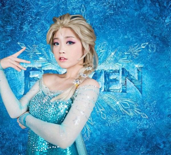 sexy elsa Frozen
