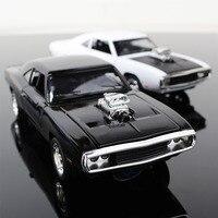 1:32 De Snelle En De Furious Gratis Verzending Dodge Charger legering Automodellen Kids Speelgoed Groothandel Vier Kleur Metalen Klassieke Cars