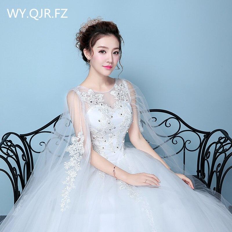 XXN063#Shawl yarn Sequins Floor-Length lace up plus size wedding ...