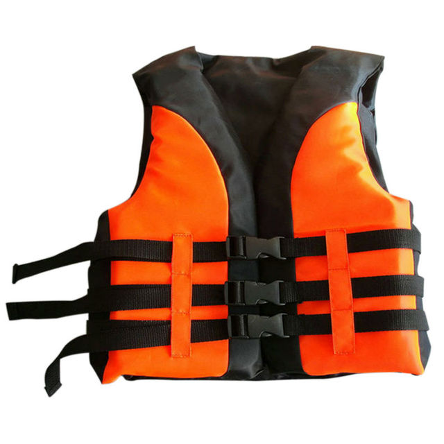 Garoto 3-Buckle Oxford Pano Vida Jacket Vest-Reddish Laranja S
