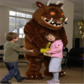 Взрослых Gruffalo костюм талисмана для продажи Gruffalo мультфильм костюм