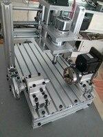 Small CNC engraving machine 2030 aluminum alloy fourth CNC USB MACH3 controller machine AC110 220V