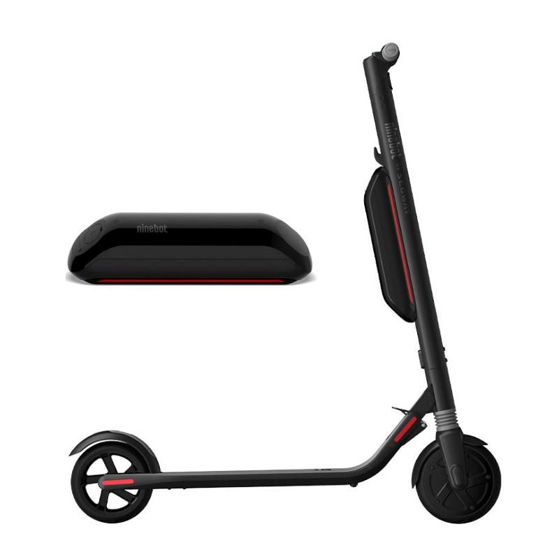 Nova No. 9 elétrico NINEBOT scooter bateria de expansão ES1 ES2 poder plug-in acessórios para o cabelo reto oficial scooter parte