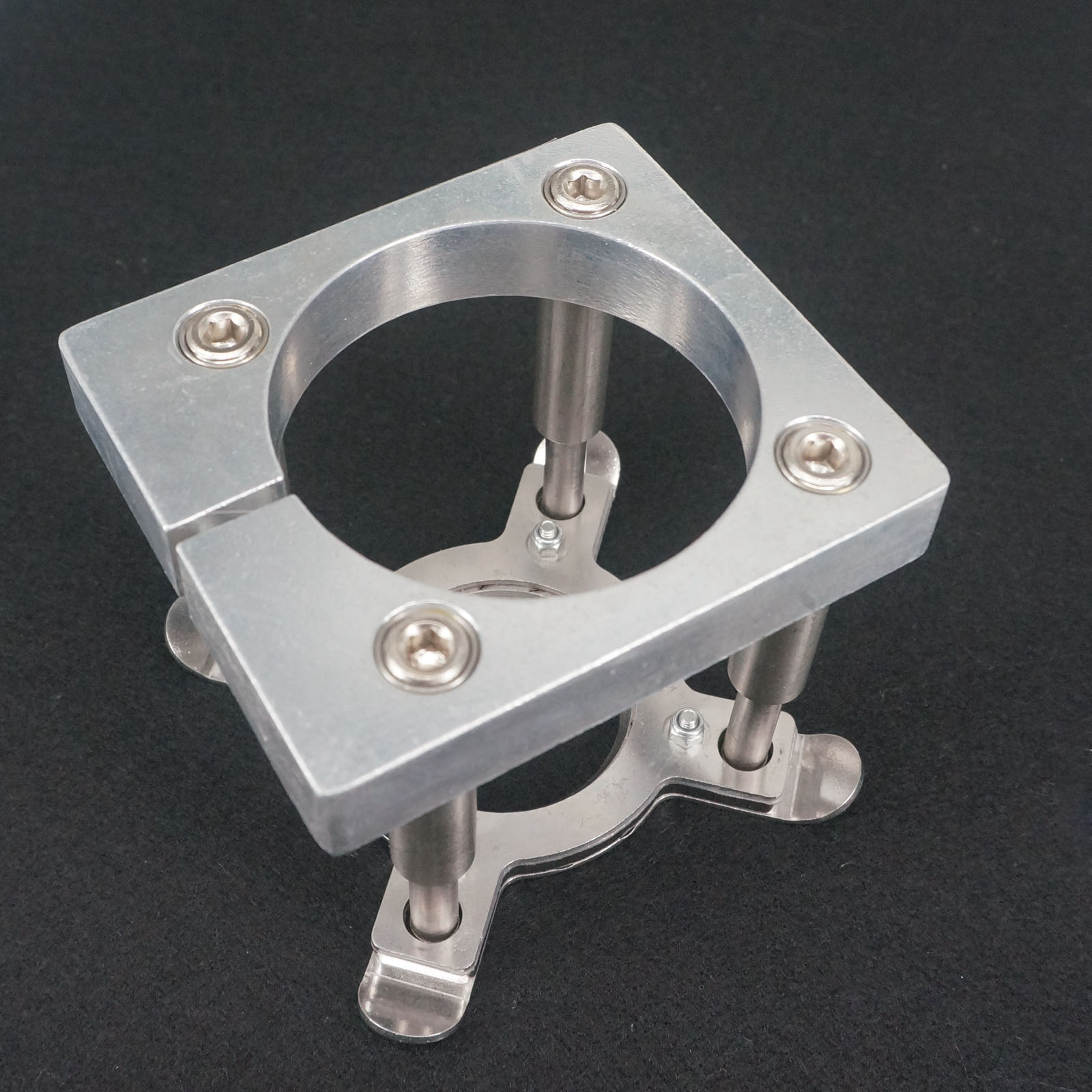 Diam 100mm Automatic Fixture Clamp Plate Device for 3KW CNC Spindle Motor купить