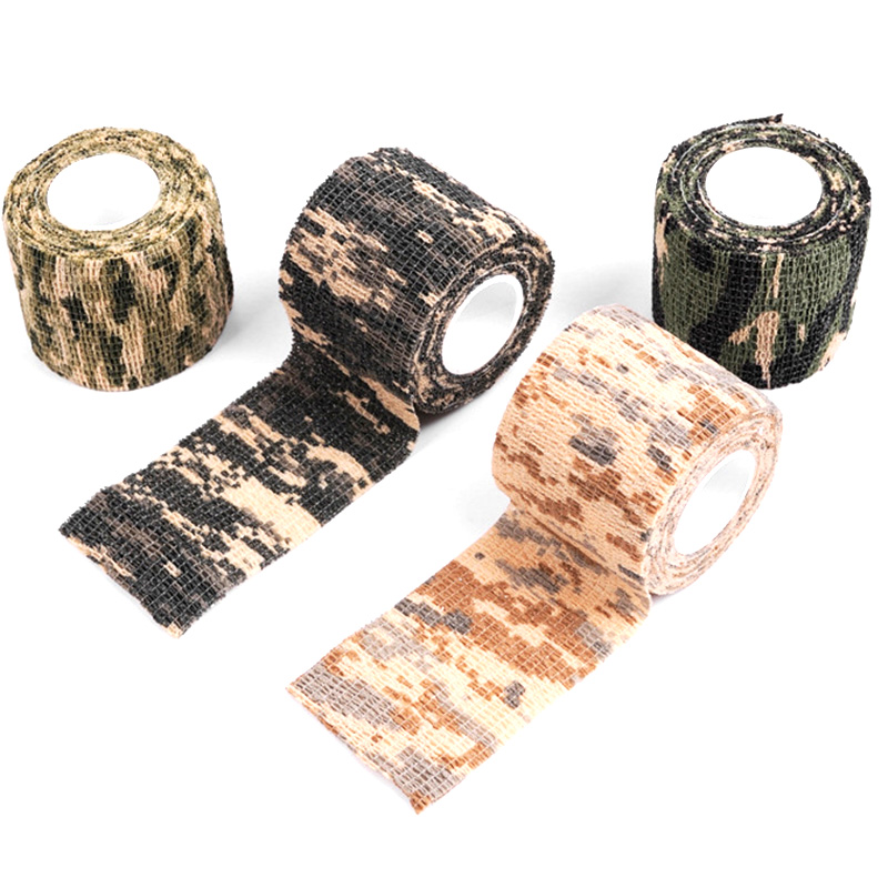Shooting-Tool Camouflage-Series Waterproof Camping Four 5m--4.5cm Mixed-Adhesive-Tape