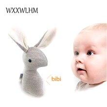 20cm Rattle játék baba kéz nyúl BB csengő eszterga medál gyermekek oktatási töltött plüss baba baba csörgő játék