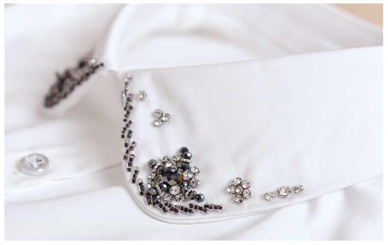 Sweater Decorative Lace Little Sleeveless women fake collar blouse Peterpan Detachable Collar Spring summer new shirt collar