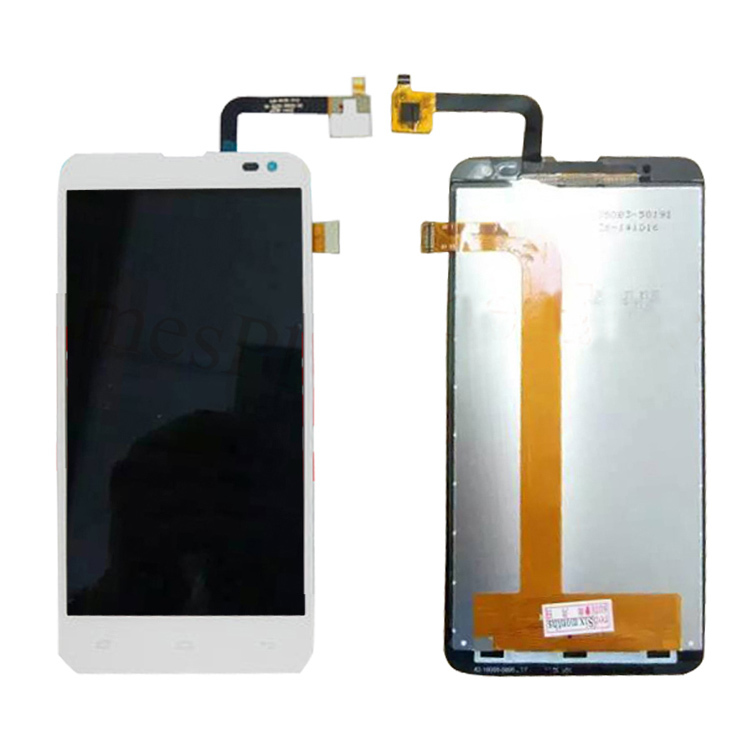 ФОТО In Stock Original White Fly IQ4514 LCD Display And Touch Screen Assembly For Fly IQ4514 Free Shipping + Tools