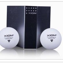 Высокое качество XIOM 3 звезды 40+ поли бесшовный мяч для настольного тенниса мяч/Пинг Понг Мяч 2 коробки/Лот 12 шт