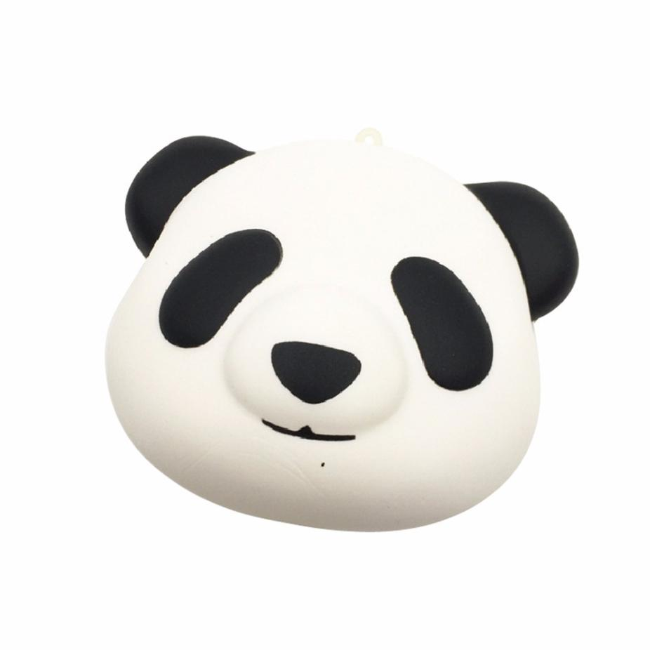 Squishy Squeeze Stress Reliever Soft Face Bun Scented Slow Rising Funny Novelty toys Adults relieve stress toys Ornaments