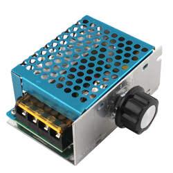 4000 Вт 220 В AC SCR Напряжение регулятор диммер электронный двигателя Скорость электрический 220 В регулятор напряжения диммер Термостат