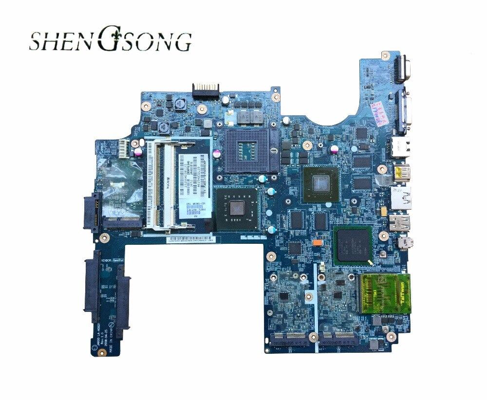 480365-001 Free shipping JAK00 LA-4082P Laptop motherboard For HP Pavilion DV7 DV7-1000 motherboard REV 1.0 PM45 DDR2 9600M