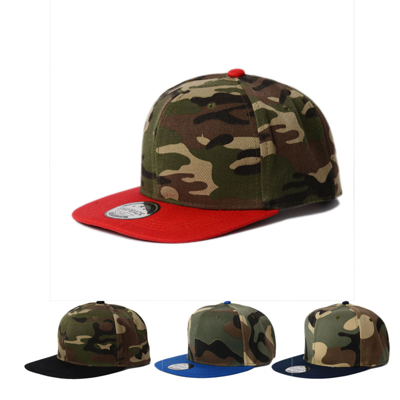 2017 new camouflage hip hop cap Cap with straight visor baseball cap men outdoor sports snapback hat adjustable bone wholesale women men fashion snapback cap hat new design custom novelty sport baseball cap girl boy hip hop camouflage visor hats