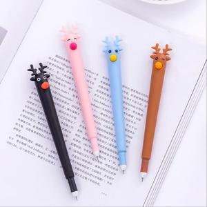 Image 3 - 31 sztuk/zestaw śliczne canetas zwierząt długopis żelowy jednorożec kawaii 0.5mm czarny tusz długopisy prezent biurowe biurowe szkolne Canetas